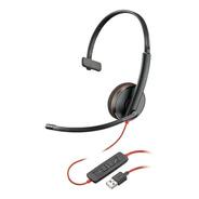 Headset Plantronics C3210 Blackwire Usb