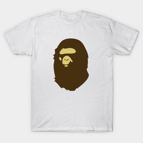 Remera A Bathing Ape, Blanca, Bape, Swag, Hip Hop, Trap, Rap