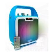 Sanrai Rs4 Parlante Bluetooth Usb Bateria Recargable C/luz