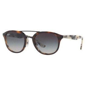 8ff8ea1fb8825 Oculos Sol Ray Ban Rb2183 12268g 53mm Marrom Havana Cinza De