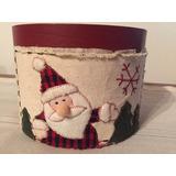 Cajas Decorativas Navidad Set X 2 Unidades