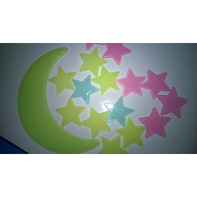 Luna Fluorescentes+ Estrellitas - Envió A Todo El País