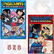 Vigilante My Hero Academia Illegals 5 E 6! Mangá Jbc Lacrado