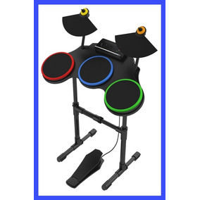 Bateria Guitar Hero World Tour Sem Fio Playstation Ps3 Ps2