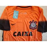 Camisa Corinthians Laranja Nike Retro Tamanho  P Ultima Peça af58187659a22