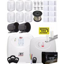 Kit Alarme Residencial Gsm Brisa Cell 804 E Central Ecr 18