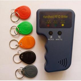 Duplicador Clonador Cartões Tag Rfid 125khz Em4100 C/ 5 Tags