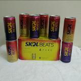 Kit 2 Caixas Com 16 Latas Skol Beats Fire E Frost