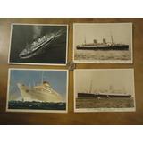Postales Antiguas De Barcos (sa)
