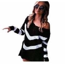 Blusa De Bico Em Lã Inverno 2017 Moda Feminina Listra.femino