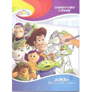 Toy Story Libro Colorear Jumbo Iluminar Preescolar