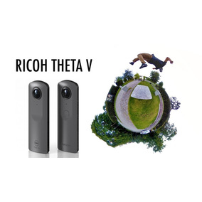 Ricoh Theta V Spherical 360º 4k Câmera Vr + Top Que O S Sp