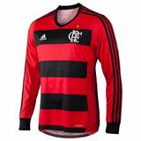 Camisa Flamengo Manga Longa 2013 adidas Novo 2017