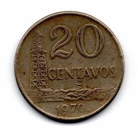 Moeda De 20 Centavos 1970