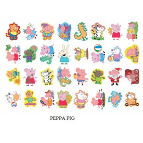 Festa Infantil 160 Tatuagem Temporária Peppa Pig