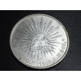Moneda Republica Peso Mexico 1908 Am Plata Bu Envió Gratis
