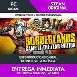 Entrega Ya! Pc Borderlands Goty   Steam