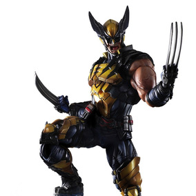 Wolverine X-men Logan Play Arts Kai