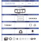 Juntas Motor Vw 1.8 Turbo 20 Valvulas Jetta Beetle 00/06