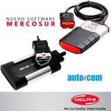 Actualización Software Scanner Delphi Autocom Mercosur