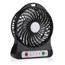 Ventilador Veicular Usb Portátil Potente Turbo 3 Velocidades