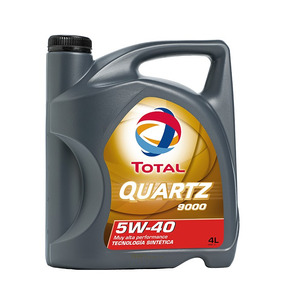 Aceite De Motor Total Quartz 9000 5w-40 4l