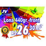 Lona,banner,faixa, Impressão Digital Alta Def.m2 - Lona 440g