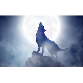La Camiseta De Los Tres Lobos Aullando A La Luna Decoración Para