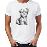 Remera Yorkshire Terrier Dog Puppy Boho Cute Vogue Hipster