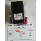 Electrificador 5km Boyero Electrico Unico Consumo Menor 0,2w