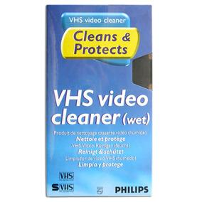 Fita De Limpeza Vhs Cabeçote Video Cassete - Philips Lacrada