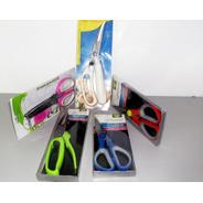 Tesouras Um Super Kit Com 5 Tesouras Com Modelos Diversos