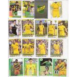 Lote 17 Figuritas Defensa Y Justicia Escudo Futbol