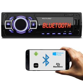 Mp3 Player Multilaser New One P3319 Bluetooth 1 Din Usb Mp3