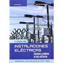 Instalaciones Electricas; Jose Luis Sanz Serran Envío Gratis