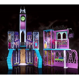 Fisher Price Monster High Escuela Mansion De Lujo Casa Orig.
