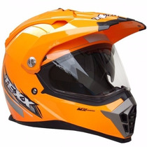 Capacete Trilha Texx Cross Mx Double Vision Offroad