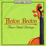 Set Cuerdas Contrabajo 4/4 3/4 (envio Gratis) Anton Breton