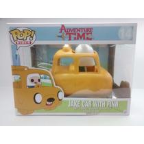 Funko Pop Jake Car With Finn Hora De Aventura