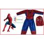 Disfraz De Spiderman Talla 1 Grande Para Niño De Año Y Medio