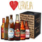 Kit Presente Dia Dos Namorados - Amo Com Cerveja Com 6 Itens