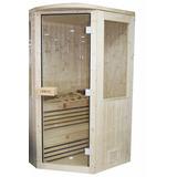 Cabina Sauna Esquina Pre-fabricada 2 Personas Piscinería