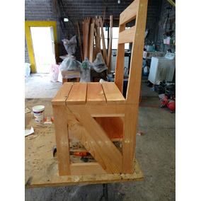 Silla escalera de madera en mercado libre m xico for Silla escalera de madera