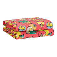 Cubrecama Infantil 1  1/2 Plaza Angry Birds Twin Size