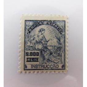 Selo Brasil 308 Vovó Correinho Instrução Novo Sem Goma