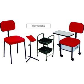 Kit Manicure : Cadeira+ Cirandinha+ Carrinho+ Tripe Oferta!