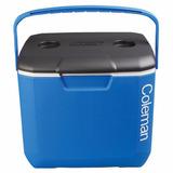 Caixa Térmica Coleman 30qt - 28,3 Litros Azul C/ Porta Latas