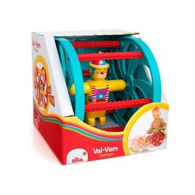 Brinquedo Palhaço Vai E Vem Elka
