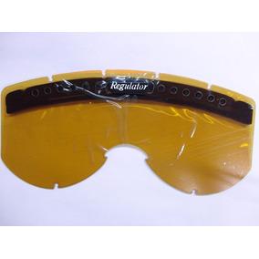 Lente Para Óculos Smith Simples Turbo Carabou - Bronze