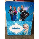 Cama Frozen , Ana , Todos Los Personajes De Frozen Con Carro